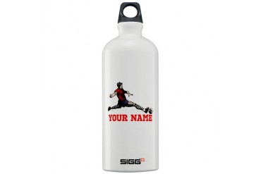Personalized Soccer Sports Sigg Water Bottle 1.0L by CafePress