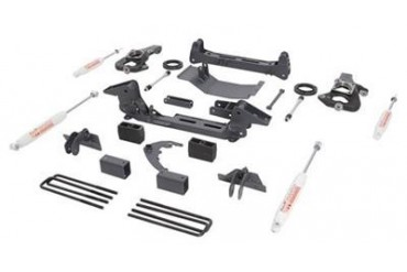 Trail Master 6.0 Inch Knuckle Suspension Lift Kit with Rear NGS Shocks TM105N Complete Suspension Systems and Lift Kits
