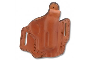 "Bianchi Model 5 Black Widow Belt Slide Holster - Judge .45 Colt/.410 2-1/2"" - 3""-6""BBL - R Ha"