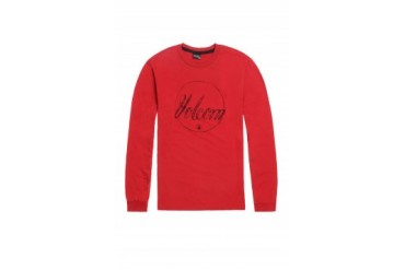 Mens Volcom - Volcom Pencil Script Long Sleeve T-Shirt