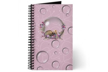 Ferret Bubble Ferret Journal by CafePress
