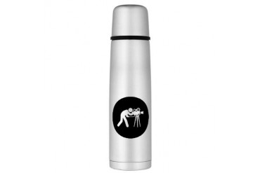 Cameraman Large Thermos Bottle Funny Large Thermosreg; Bottle by CafePress