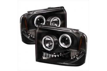 Spyder Auto Group Halo LED Projector Headlights 5010544 Headlight Replacement