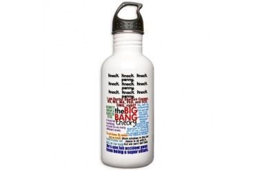 Big Bang Quotes Stainless Water Bottle 1.0L