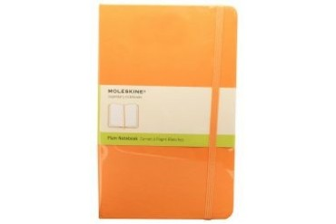 Large Classic Colored Hard Plain Notebook
