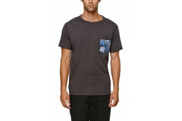 Mens Reef T-Shirts - Reef Pockets Crew T-Shirt