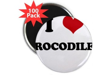 CROCODILES.png Funny 2.25 Magnet 100 pack by CafePress