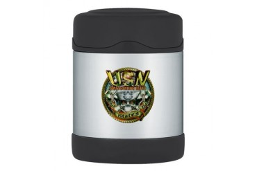 USN Boatswains Mate Chain Rain Thermos Food Jar Navy Thermosreg; Food Jar by CafePress