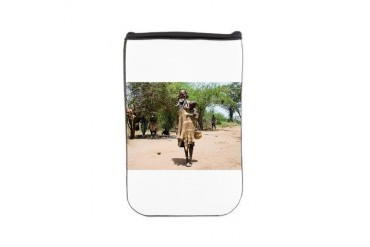 African Tribes 3 Ethnicity Nook Sleeve by CafePress