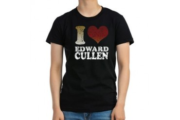 Edward Cullen Twilight Women's Fitted T-Shirt (dar