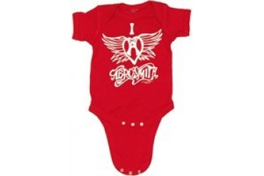 Aerosmith I Love Aerosmith Heart Wings Snap Suit