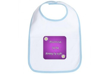 Obstetrician by day Mommy by night Doctor Bib by CafePress