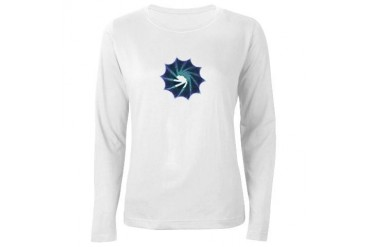 Wormhole Cool Women's Long Sleeve T-Shirt by CafePress