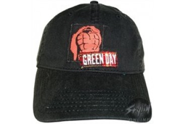 Green Day Grenade Embroidered Stretchable Hat