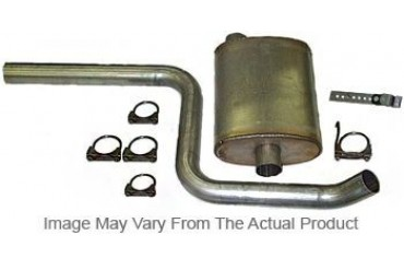 1982-1986 Jeep CJ7 Exhaust System Heartthrob Exhaust Jeep Exhaust System 1004478 82 83 84 85 86