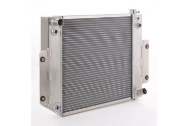 Be Cool Replacement Aluminum Radiator for AMC V8 or GM V6 Engine with Manual Transmission 61005 Radiator