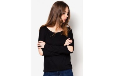 Something Borrowed Open Elbow Top