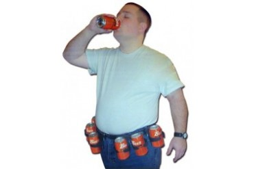 6 Pack Beer Belt :: A Belt That can Hold Your Beers $19.99