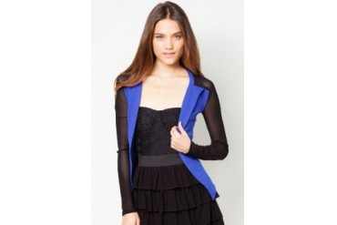 Material Girl Meshed Blazer