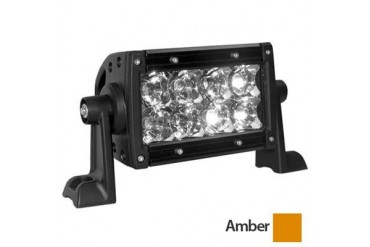 Rigid Industries Amber Series, 4 inch Spot Light Bar 10422 Offroad Racing, Fog & Driving Lights