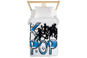KPOP BOY BAND Music Twin Duvet by CafePress