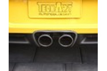 TechArt Carbon Rear Diffuser 3-Piece Porsche Boxster Boxster S 987 05-12
