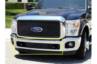 T-Rex Grilles Upper Class; Mesh Bumper Grille Bolt-On Insert 52546 Bumper Valance Grille Inserts