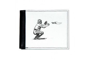 Catch 22 Funny Mens Wallet by CafePress
