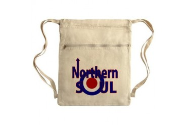 Retro Northern Soul Sack Pack Vintage Cinch Sack by CafePress