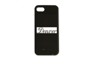 Vintage Denver Colorado iPhone Charger Case by CafePress