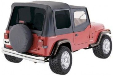 1987-1995 Jeep Wrangler (YJ) Soft Top Rampage Jeep Soft Top 99415 87 88 89 90 91 92 93 94 95