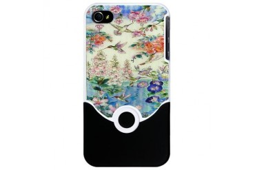 Hummingbird Stained Glass Iphone 4 Slider Case Hot