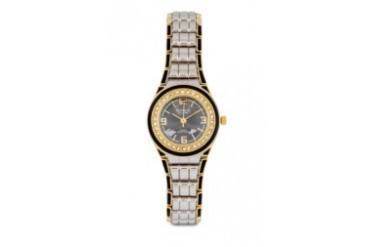 Omax JHS450G Alloy Gold (Black Crown) Watch