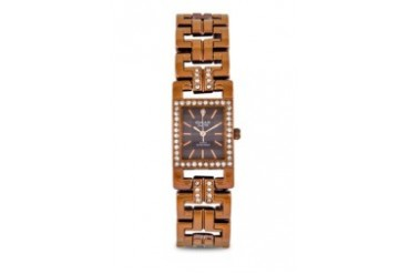 Omax JES6306BRW Alloy Brown Watch