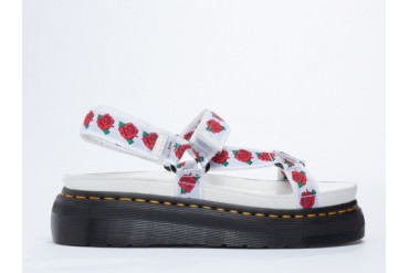 Agyness Deyn X Dr. Martens Aggy Sandal in White Rose size 11.0
