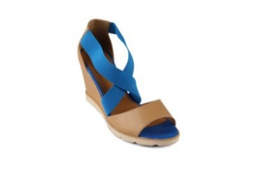 FLY Diella Wedges Shoe Sandals Blue