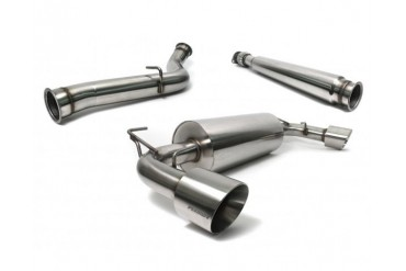 Perrin Performance 3.0 Inch Catback Exhaust Dual Tip without Resonator Scion FR-S 13-14