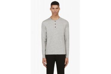 Rag And Bone Heather Grey Henley