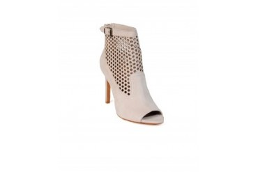 Vince Camuto 'Kolt' Perforated Bootie Cream, 7