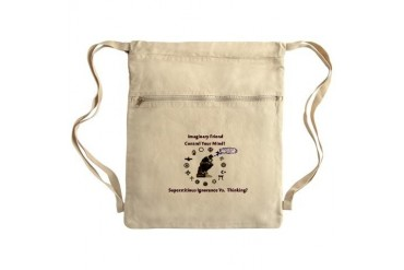 Think for Yourself Sack Pack Religion Cinch Sack by CafePress