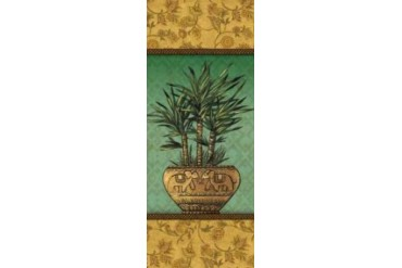 Tropical Plants I Poster Print by Charlene Audrey (10 x 20)