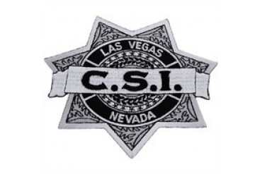 CSI Crime Scene Investigation Las Vegas Nevada Badge Patch