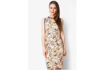 Urban Twist Paisley Up Mini Dress