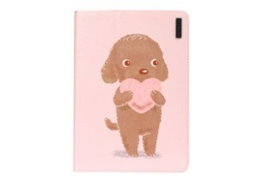 Puppy In Love iPad Air Printed Leather Case
