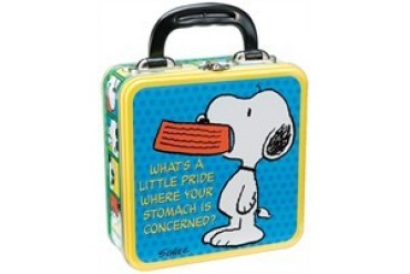 Peanuts Snoopy What's a Little Pride Tin Tote Lunch Box