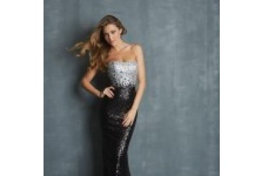 "Night Moves ""In Stock"" Dress - Style 7026"
