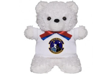 12th Space Warning Military Teddy Bear by CafePress