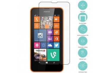 Nokia Lumia 630 635 Tempered Glass Film Screen Protector Clear