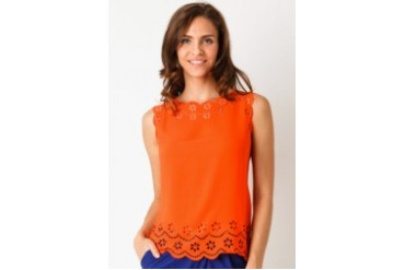 Voerin Serena Top Orange