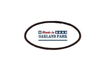 Made in Oakland Park Florida Patches by CafePress